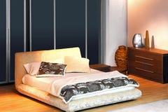 Bedroom angle Stock Image