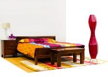 Bedroom angle Royalty Free Stock Photo