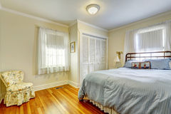 Bedroom with antique furniture Stock Photo