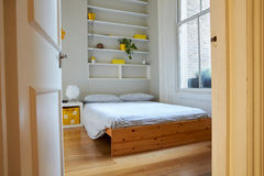 Bedroom Area In Modern Stylish Apartment Stock Photo