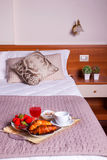 Bedroom of Ares hotel Royalty Free Stock Images