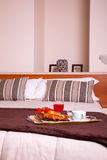 Bedroom of Ares hotel Stock Photography