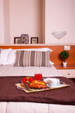 Bedroom of Ares hotel Royalty Free Stock Photography