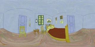Bedroom In Arles - Recreation stock video