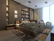 Bedroom avant-garde style Royalty Free Stock Photo