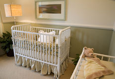 Bedroom baby 2400 Stock Photo