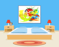 Bedroom Background Royalty Free Stock Photos