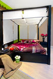 Bedroom canopy Stock Images