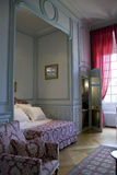 Bedroom in Chateau Cheverny Stock Photography
