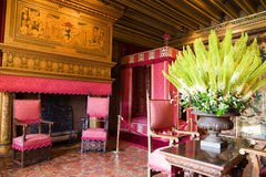Bedroom from Chenonceau Chateau Royalty Free Stock Photos