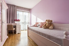 Bedroom of a child Stock Photo