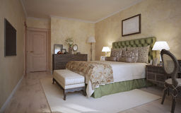 Bedroom classic style Royalty Free Stock Photography