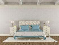 Bedroom in classic style Royalty Free Stock Images