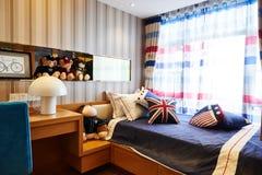 child children kid bedroom Stock Image