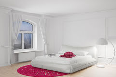 Bedroom in the dark Royalty Free Stock Photo