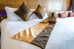 Bedroom decoration modern design Stock Images