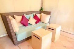 Bedroom decoration modern design Stock Image