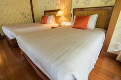 Bedroom decoration modern design Stock Photography