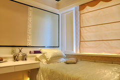 Bedroom decoration and ornaments Stock Photo