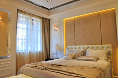 Bedroom decoration in simple Stock Photos