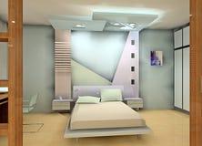 Bedroom design Stock Image