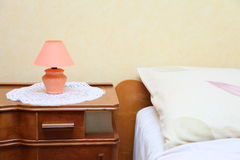 Bedroom detail Royalty Free Stock Photos