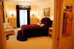 Elvis Presley`s Parents Bedromm. The Bedroom of the Elvis Presley`s Parents, as seen at Graceland Memphis stock photography