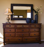 Bedroom furniture stock photography