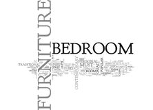 Bedroom Furniture Make Your Own Personal Statementword Cloud Stock Image