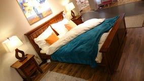 Bedroom furniture modern design Royalty Free Stock Image
