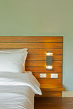 Bedroom on holiday Royalty Free Stock Images