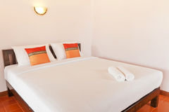 Bedroom on holiday in Thailand Stock Photography