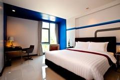 Bedroom Hotel. Interior design: Modern Bedroom hotel Stock Photography