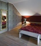 Bedroom interior royalty free stock photos