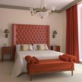 Bedroom interior. Stock Images