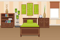 Bedroom Interior Concept Royalty Free Stock Image