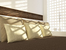 Bedroom interior design. Royalty Free Stock Photo