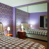 Bedroom interior design Stock Photo