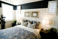 Bedroom Interior Design Stock Photo