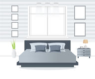 Bedroom interior design. Stock Photos