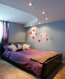 Bedroom interior design Stock Images