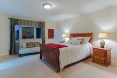 Bedroom interior design Stock Photography