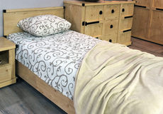 Bedroom interior design Stock Image