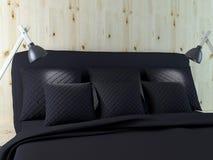 Bedroom interior design. stock images