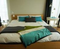Bedroom interior with elegant simple design Stock Images