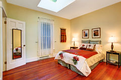 Bedroom interior Royalty Free Stock Image