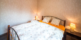 Bedroom interior Royalty Free Stock Photography