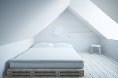 Bedroom interior light Stock Photography