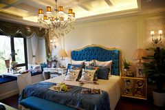 Bedroom interior Royalty Free Stock Images