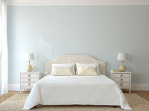 Bedroom interior. Stock Photo